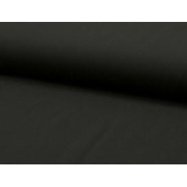 tissu viscose uni noir largeur 140cm x 50cm