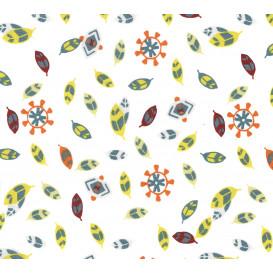 tissu popeline blanc plume indien largeur 145cm x 50cm