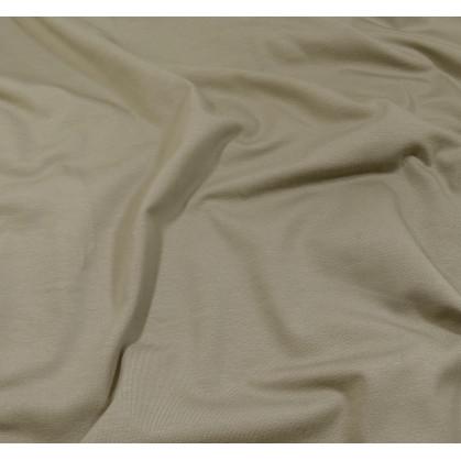 coupon 0,20mx1,60m de tissu jersey  uni gris clair