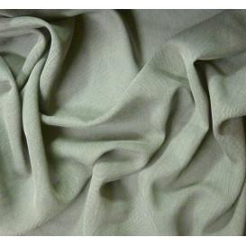 coupon 0,40mx1,34m tissu resille gris clair