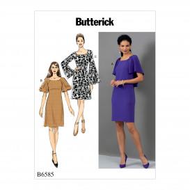 patron robes semi-ajustées Butterick B6585