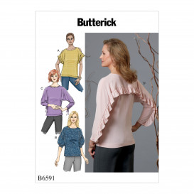 patron hauts amples Butterick B6591