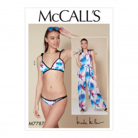 patron bikini, combinaison McCall's M7787
