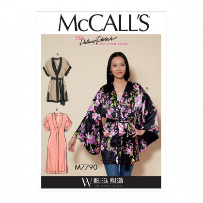 patron vestes amples McCall's M7790