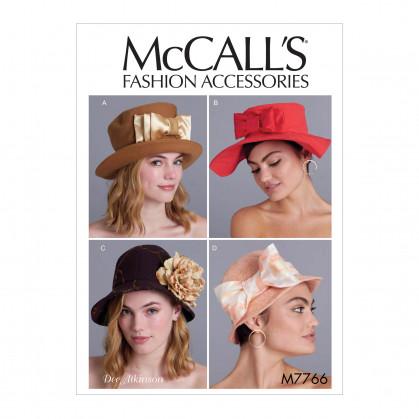 patron chapeaux McCall's M7766