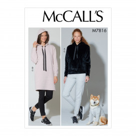 patron haut, robe, pantalon McCall's M7816