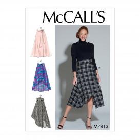 patron jupes et ceinture McCall's M7813