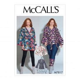 patron vestes amples McCall's M7817