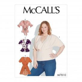 patron hauts amples McCall's M7810
