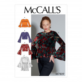 patron hauts amples McCall's M7809