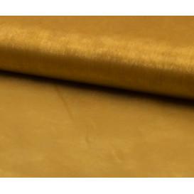 tissu organza or largeur 150cm x 50cm