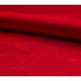 tissu organza rouge largeur 150cm x 50cm