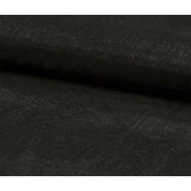tissu organza noir largeur 150cm x 50cm