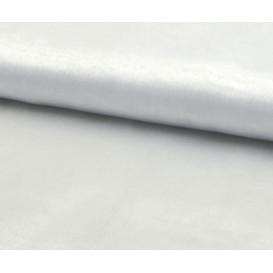 tissu organza blanc largeur 150cm x 50cm