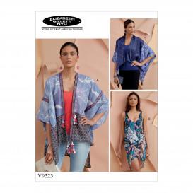 patron sortie de bain Vogue V9323