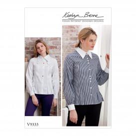 patron chemises amples Vogue V9333
