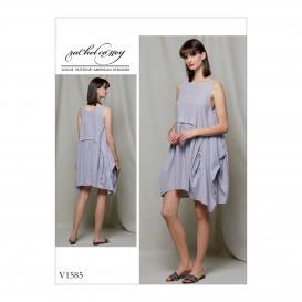 patron robe ample Vogue V1585