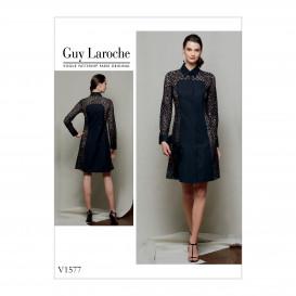 patron robe boutonnée Vogue V1577