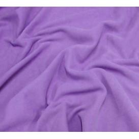 tissu polaire lilas largeur 150cm x 50cm