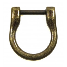 attache pour anse de sac à main bronze 1,8cm x 1,4cm