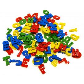boutons assortiment de lettres 45gr
