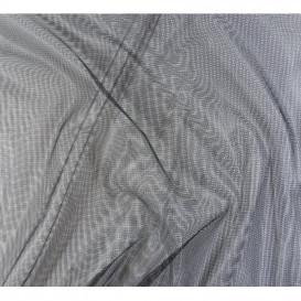 coupon 0,28mx1,50m tissu moustiquaire noir