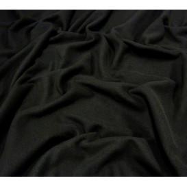 coupon 0,34mx1,60m tissu polaire noir