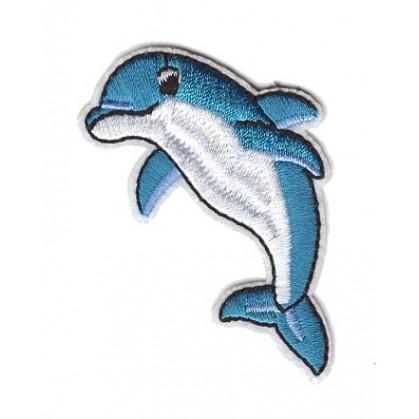 écusson dauphin thermocollant