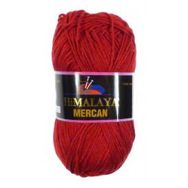 pelote de laine himalaya mercan rouge foncé 50gr