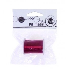 Fil métal violet