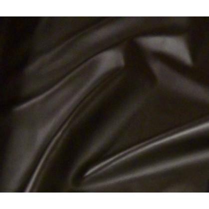 tissu simili cuir marron largeur 144cm x 50cm
