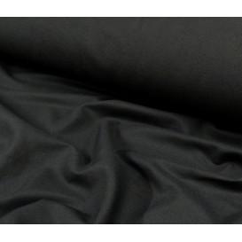 tissu moleskine photo noir largeur 160cm x 50cm