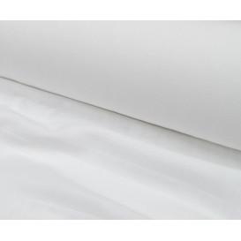 tissu tétra lange bébé blanc largeur 150cm x 50cm
