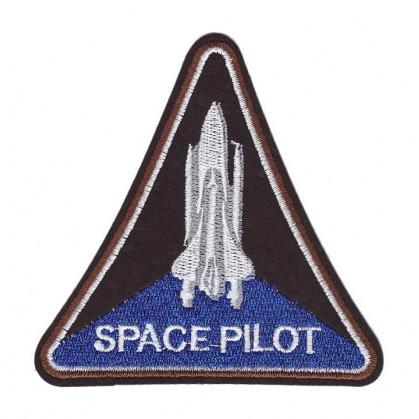 écusson space pilot thermocollant