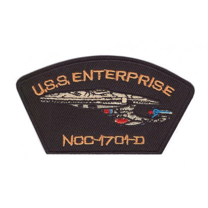 écusson vaisseau spatial USS Enterprise thermocollant