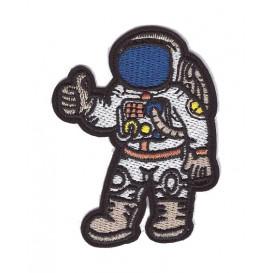 écusson astronaute thermocollant