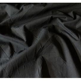 tissu coton uni noir largeur 147cm x 50cm