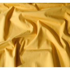tissu coton uni jaune moutarde largeur 147cm x 50cm