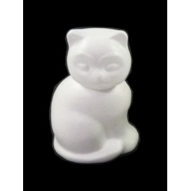chat en polystyrene