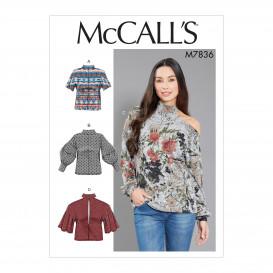 patron hauts ajustés McCall's M7836