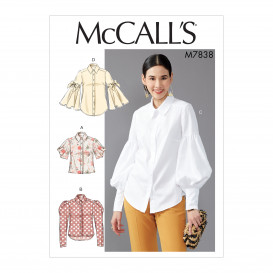 patron hauts amples McCall's M7838