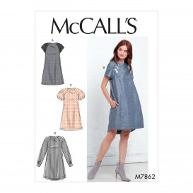 patron robes amples McCall's M7862