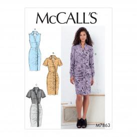 patron robes ajustées McCall's M7863