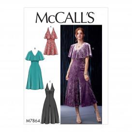patron robes et combinaisons McCall's M7864