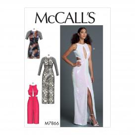 patron robe moulante McCall's M7866