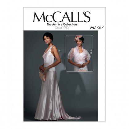 patron robe et veste McCall's M7867
