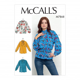 patron hauts très amples McCall's M7868