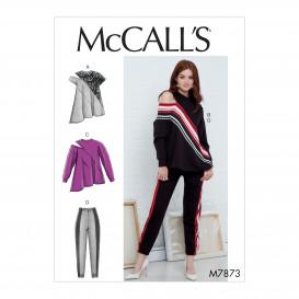 patron hauts et pantalon McCall's M7873