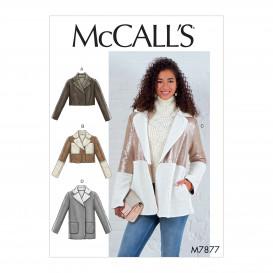 patron veste ample McCall's M7877