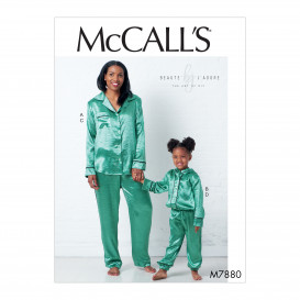 patron hauts et pantalon McCall's M7880